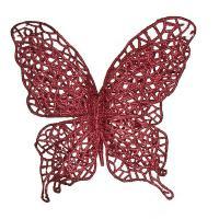 241-2445 Изделие декорат.Бабочка на клипсе