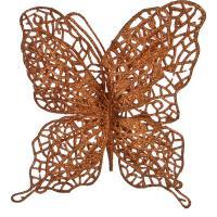 241-2446 Изделие декорат.Бабочка на клипсе