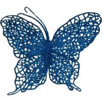241-2447 Изделие декорат.Бабочка на клипсе