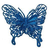 241-2463 Изделие декорат.Бабочка на клипсе