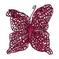 241-2465 Изделие декорат.Бабочка на клипсе