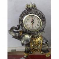 59104 Часы настольные Слон 15*10см