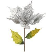 241-1822 Цветок искусств.Пуансетия 78см