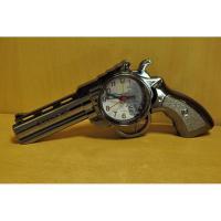 178001 Револьвер часы-будильник 24*9см