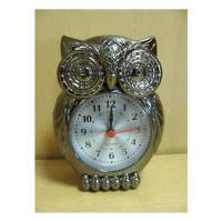 979В Сова часы-будильник 13*10см