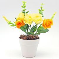 7103004/1 Декор Розы оранж 22*7*7см