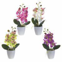 265685 Цветочная композиция Орхидея 7,5*7,5*28 см