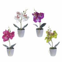 265686 Цветочная композиция Орхидея 7*7*21 см 4 в