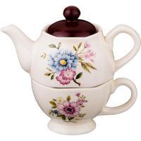 493-645 Набор чайник+чашка