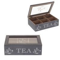 401912 Шкатулка для чайных пакетиков 23*15,5*7см