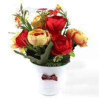 795503/4 Композиция цветов Розы 20см