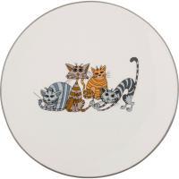 188-106 Тарелка десертная Озорные коты Д20см