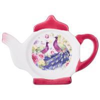 358-1063 Подставка под чайные пакетики Павлины