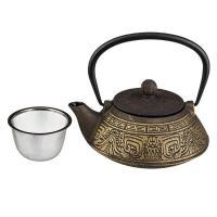 734-047 Заварочный чайник чугунный с эмал. 800мл