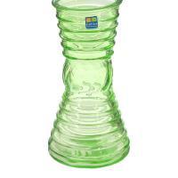 4840157156 Ваза 92-004 Грейси, цв. зеленый 19 см