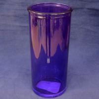 4840158374 Ваза 92-007-1, цв.лиловый, 19.5 см