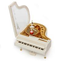 К1776 Шкатулка музыкальная рояль 16*17*10см