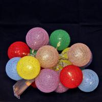 К1826 Световая гирлянда (бат) 20 шаров 2 м