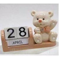 L53670(12) Календарь с мишкой 3*7*5,5см