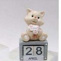 L53676(12) Календарь с котенком 4*2,5*7см