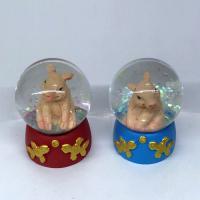 HOL21527 (12-192) Свинья в шаре 4.5*4.5*6.5 см