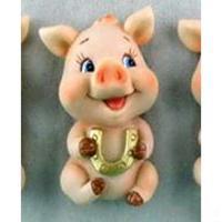 KB2229 (12) Магнит свинка 4.3*2.5*6.5см
