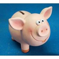 L53949  Копилка свинья керамика 12.7*9.0*9.8 см