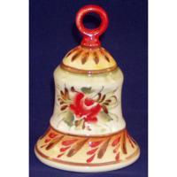 Колокольчик из фарфора 8 см., арт.2619