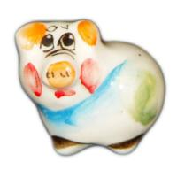 Свинка малая цветная 3.3 см, арт.2541