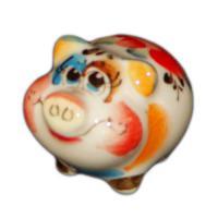 Хрюшка цветная 4.2 см., арт.2547
