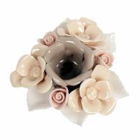 C10722 (4) Подсвечник цветок 8*9.5*3.4 см