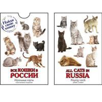 900-07W-CAT3-М Карты Сувенирные Кошки России