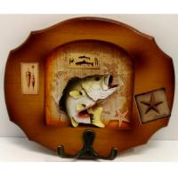 218069 Вешалка Рыба, 16*13,5см