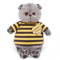 Ks19-092 Басик в полосатой футболке с пчелой, 19см