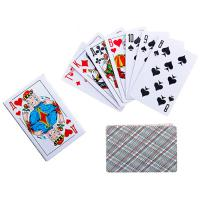 261017 Карты игральные бумажные Дама, 36шт