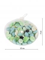 К5937 Камушки декоративные, стекло 300 гр. 2 см