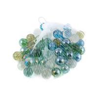 К5938 Камушки декоративные , стекло 300 гр. 1,5 см