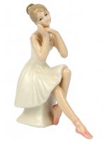 К101837 Балерина фарфор 13*9,5*5,5 см