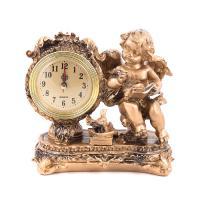 К6136 Часы Ангел 18*19*9 см полистоун