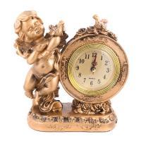 К6137 Часы Ангел 19*20*8 см полистоун