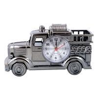 К5773 Часы-будильник Машинка 12,5*21*7 см
