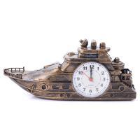 К5776 Часы-будильник Яхта 11*23*7 см
