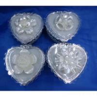 MML14944  Шкатулка сердце 9х8х5.5 см