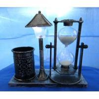 MML15981 Часы песочные ( пласт+стекло) 15,5*6,5*13