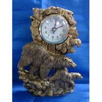 MML16127  Часы с медведями 12*4*17 см