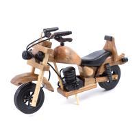 К5852 Мотоцикл  декоративный 10*17*5 см дерево