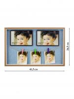 К5986-2 Фотоколлаж 41,5*26,5*3,5 см