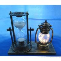 MML15983 Часы песочные ( пласт+стекло) 15.5*6.5*12
