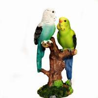 HOL21346 (4) Два попугая 8*6.5*15 см