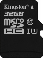 Kingston SDHC 16 Gb Class 10 U1 UHS-I, 80MB/s